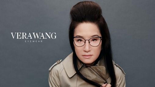 Kenmark Eyewear // 2021 Vera Wang campaign featuring Vera Wang