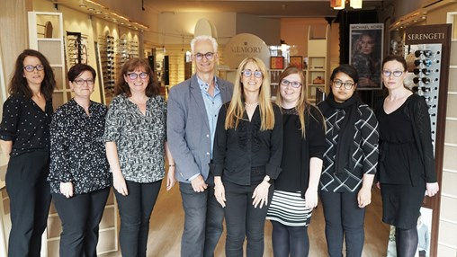 Memory Opticians Nominated for Customer Service Award