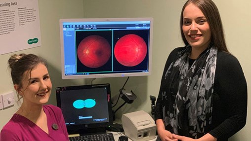 Mother's Life Saved Through Routine Sight Test