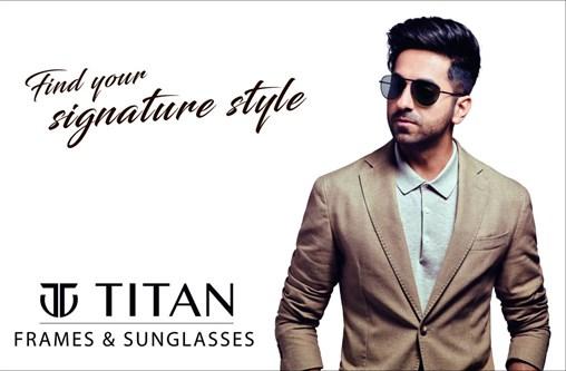 Titan's Eyewear Brings Ayushmann Khurrana on Board As Their Brand Ambassador