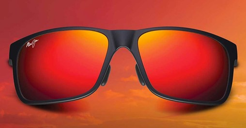 MAUI JIM HAWAII LAVA™ Red Mirror – in prescription