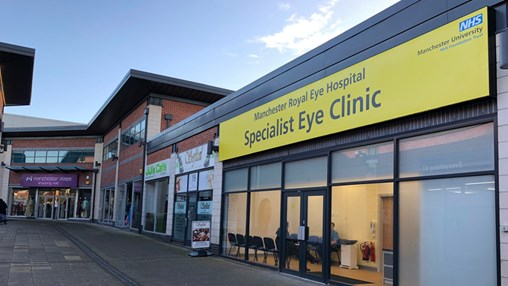 High Street Eye Clinics in Manchester Deliver Over 10,000 Appointments in First Year