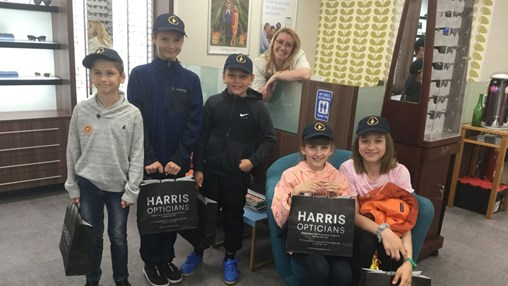 Harris Opticians Provides Free Sight Tests to Children Affected by the Chernobyl Disaster