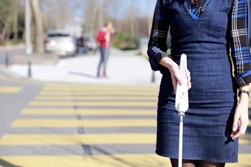 The WeWalk Smart Cane for the Blind Is As Cool As It Is Useful