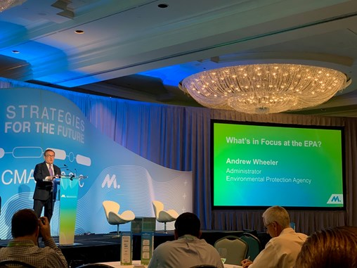 Lynch attends NAM CMA Summer Leadership Conference – EPA Administrator Wheeler Presents