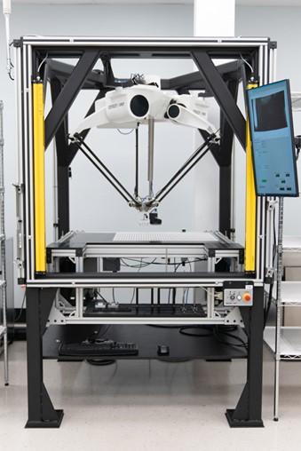 Delta Robot Eases Encoder Disk Production