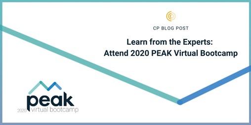 Attend 2020 PEAK Virtual Bootcamp