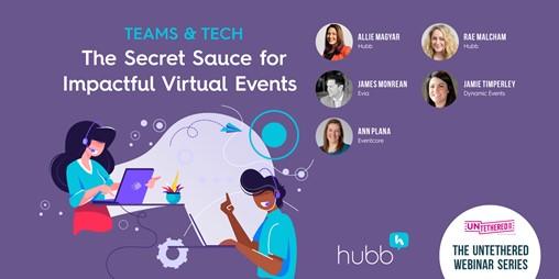 Teams & Tech: The Secret Sauce for Impactful Virtual Events