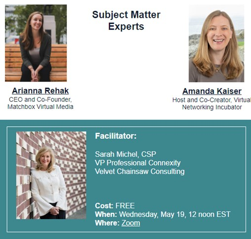 [WEBINAR]: Cracking the Code on Event Networking
