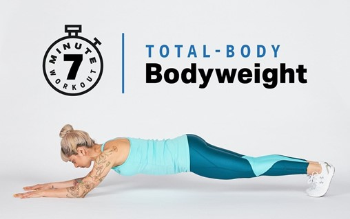 7-Minute Total-Body Bodyweight Workout