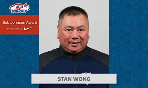 Longtime Athletic Trainer and Friend to Players Stan Wong Celebrated As Bob Johnson Award Winner