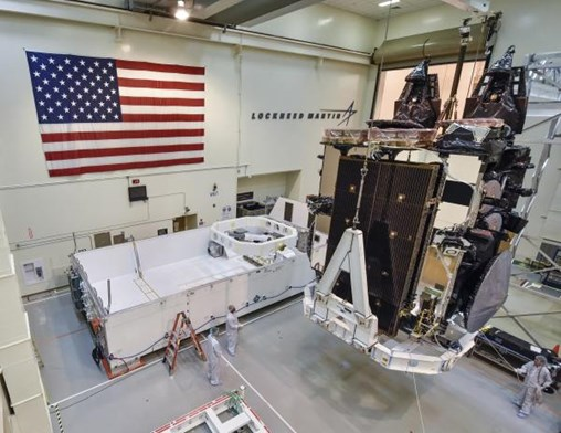U.S. Air Force Welcomes Fifth Lockheed Martin-Built AEHF Satellite to Cape Canaveral for June Launch