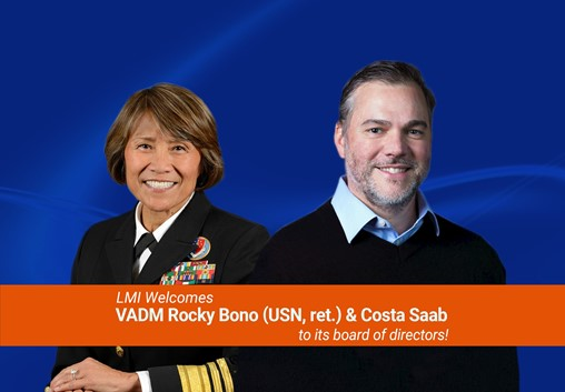 LMI Welcomes VADM Rocky Bono and Costa Saab to Board