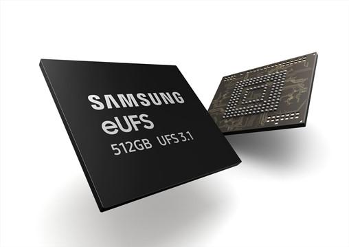 Samsung's new eUFS (embedded Universal Flash Storage) 3.1