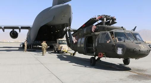 As troops leave, US to keep airstrike option in Afghanistan