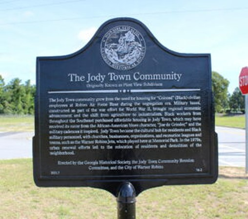 New marker commemorates Jody Town, a Black community in Warner Robins created for Air Force workers