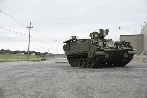 US Army receives second AMPV, pushes fielding date back