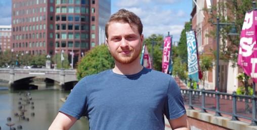 Ben Spiegel Solve for Tomorrow alumnus