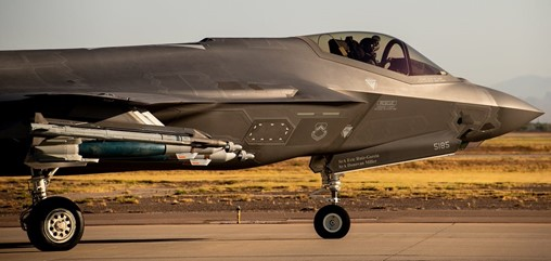 US Air Force Test Center Looks for Visual Display Systems for F-35A JSE