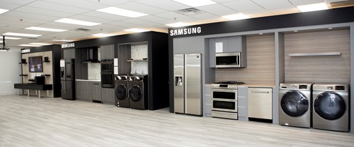 Interactive Home Appliance Hands-On Labs at Samsung Technical Training Center