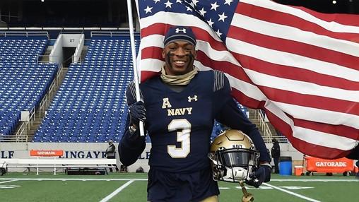 Defense secretary steps in, OKs Navy grad's pursuit of NFL dream