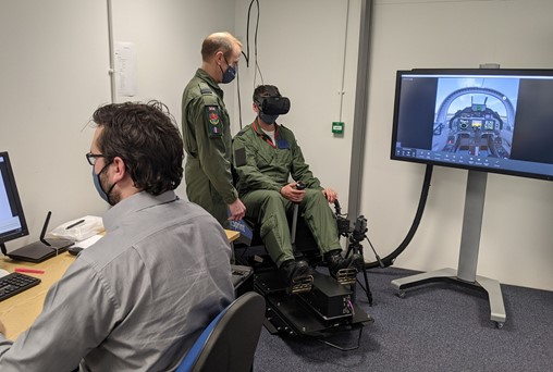 Virtual Reality Trailed by RAF to Guide Increase In Ground Based Fast Jet Training