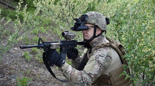 AUSA: ENVG-B Enhances Soldier Awareness