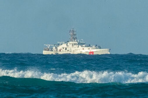 Coast Guard, fire department, rescue pilots after cargo jet crashes in ocean off Hawaii