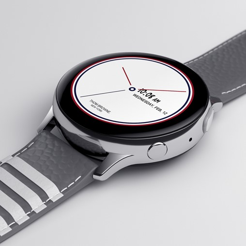 Galaxy Z Flip Thom Browne Edition (Galaxy Watch Active2)