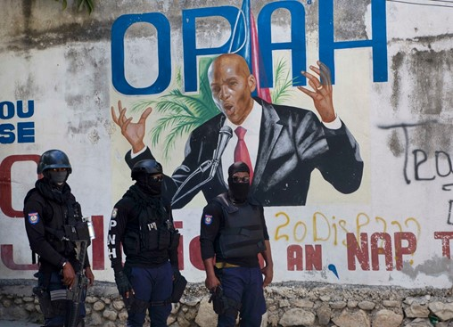 Pentagon analyzing request to send troops to Haiti