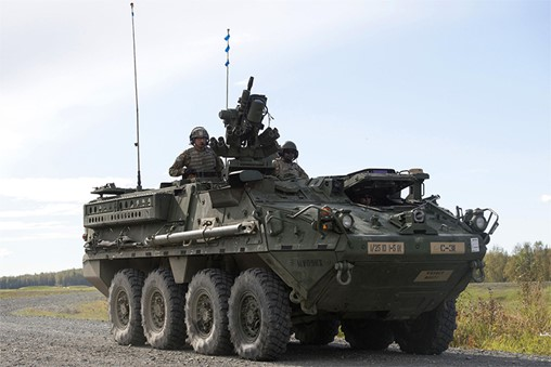 US Army M1126 ICV Strykers for Argentina