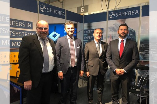 An MOU Between Elettronica and Spherea on EW Test Solution for Helicopter ESM/RWR Suites