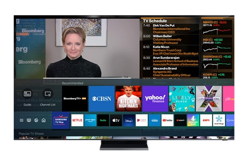 Bloomberg TV+ on Samsung TV Plus