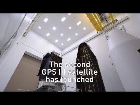 Second Lockheed Martin-Built Next Generation GPS III Satellite Responding to Commands, Under Self-Propulsion