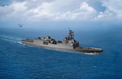 US Navy secretary names new frigate class