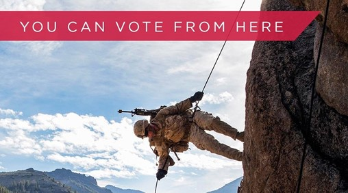 Troops deployed to remote areas would have complete electronic voting under new legislation