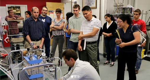 Biotechnology Industry Professionals Visit Campus for Annual Biomanufacturing Workshops