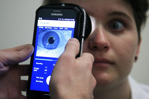 "Children's National Scientists Create Devise To Measure Pain by Through Eyes - dubbed ""Pain-o-Meter"""