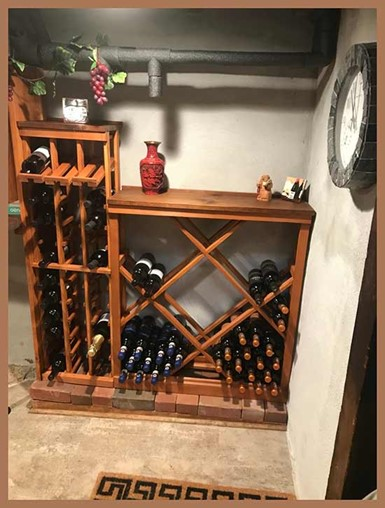 Fun project with WineMaker racks