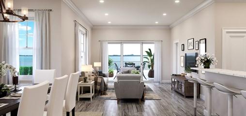 3d home tour - Living Room 360 Panorama