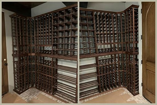 Awesome variety in bottle storage styles