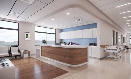 Medical Center Rendering - Reception