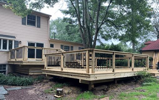 Summertime Deck Building Project