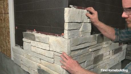How to Install Stone-Veneer Siding Panels