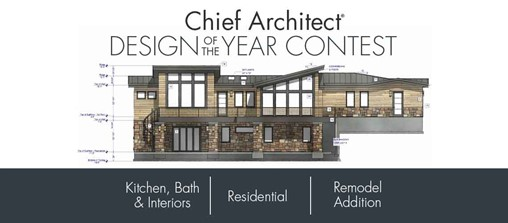 2020 Chief Architect Design of the Year Contest Finalists