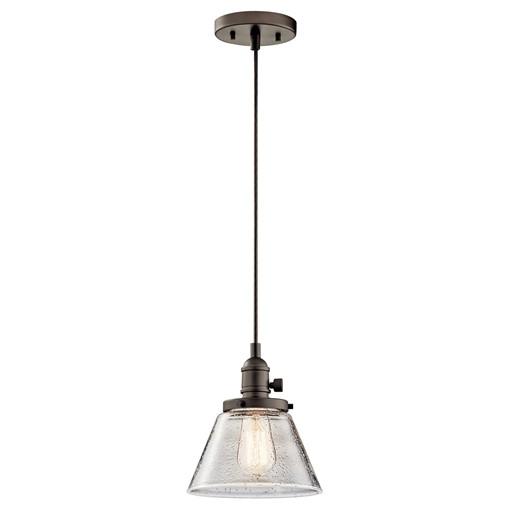 Avery™ 1 Light Cone Mini Pendant Olde Bronze®