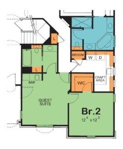 McAllister - #42027 Guest Suite