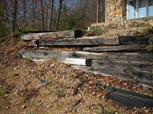 Fix a Timber Retaining Wall