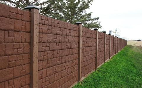 Eco-Wall 🌺😀🏠 This Is Our New Rubber Fence!