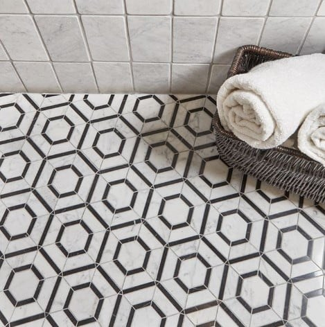 Brighten Your Space With Patterned Tile
